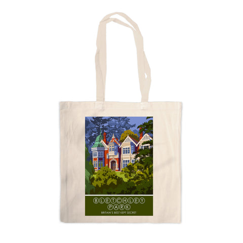 Bletchley Park, Bletchley, Buckinghamshire Canvas Tote Bag