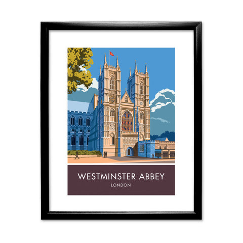 Westminster Abbey, London, London 11x14 Framed Print (Black)