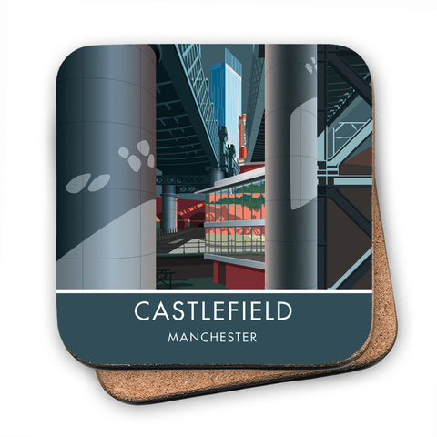 Castlefield, Manchester, Cheshire MDF Coaster