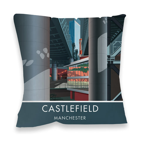 Castlefield, Manchester, Cheshire Fibre Filled Cushion