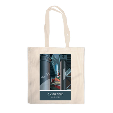 Castlefield, Manchester, Cheshire Canvas Tote Bag