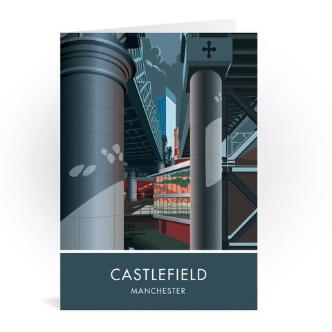 Castlefield, Manchester, Cheshire Greeting Card 7x5