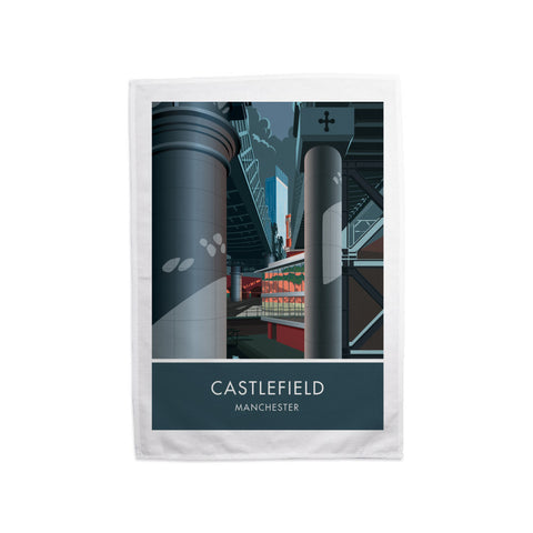 Castlefield, Manchester, Cheshire Tea Towel