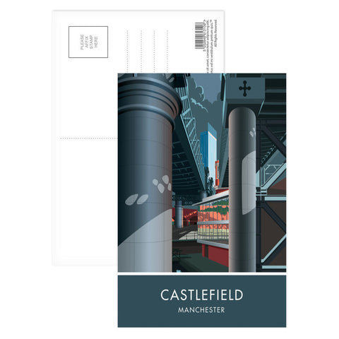Castlefield, Manchester, Cheshire Postcard Pack
