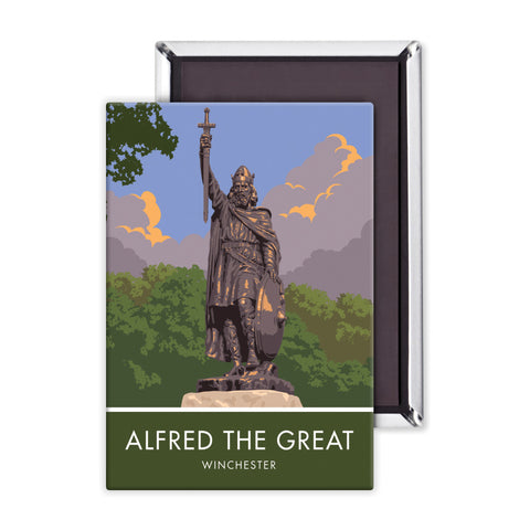 Alfred the Great, Winchester, Hampshire Magnet