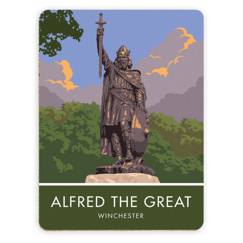 Alfred the Great, Winchester, Hampshire Placemat