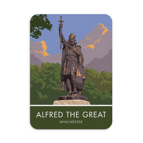 Alfred the Great, Winchester, Hampshire Mouse mat