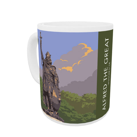 Alfred the Great, Winchester, Hampshire Mug