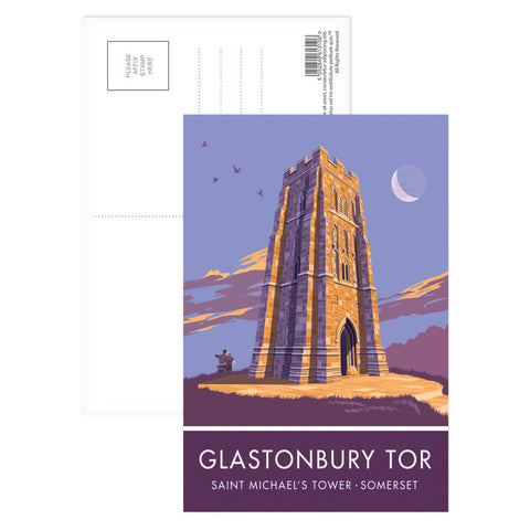 Glastonbury Tor, Glastonbury, Somerset Postcard Pack