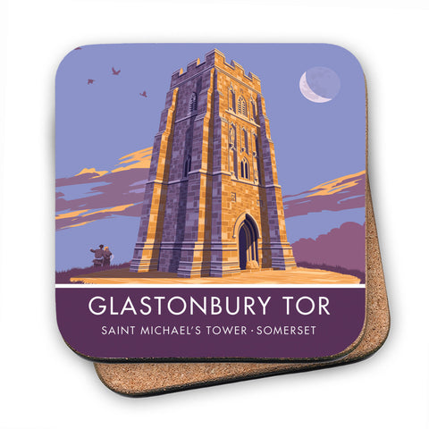 Glastonbury Tor, Glastonbury, Somerset MDF Coaster