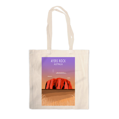 Ayers Rock, Australia Canvas Tote Bag