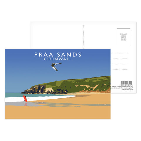 Praa Sands, Cornwall Postcard Pack