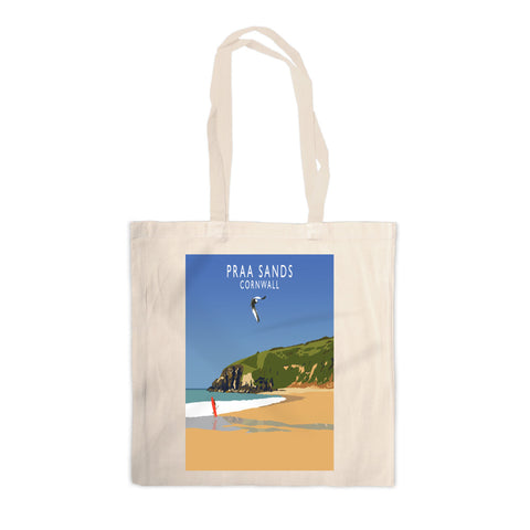 Praa Sands, Cornwall Canvas Tote Bag