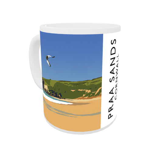 Praa Sands, Cornwall Coloured Insert Mug