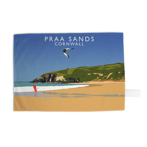 Praa Sands, Cornwall Tea Towel