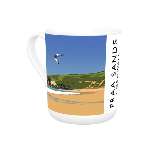 Praa Sands, Cornwall Bone China Mug