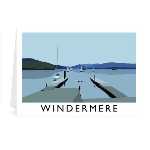 Windermere, Lake District Greeting Card 7x5