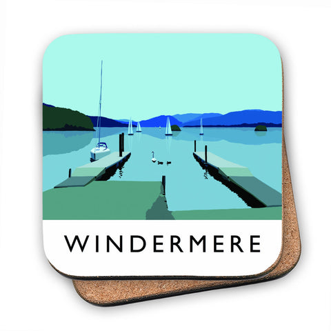 Windermere, Lake District MDF Coaster