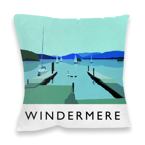 Windermere, Lake District Fibre Filled Cushion