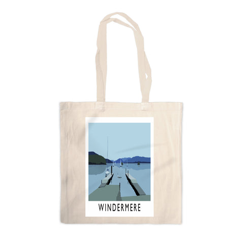 Windermere, Lake District Canvas Tote Bag