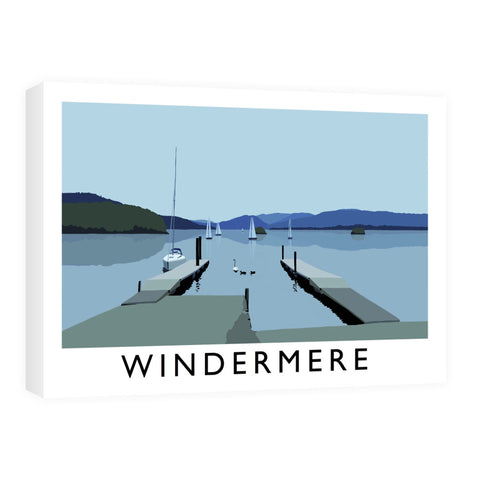 Windermere, Lake District Canvas