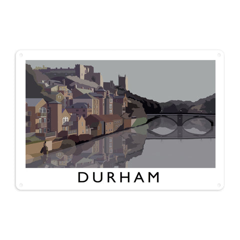 Durham Metal Sign