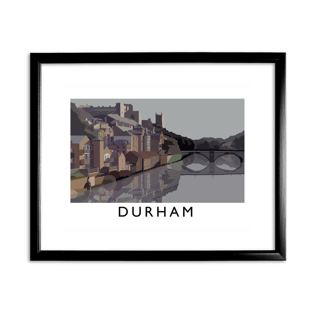 Durham 11x14 Framed Print (Black)