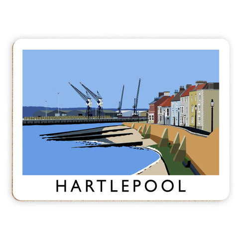 Hartlepool, Co Durham Placemat