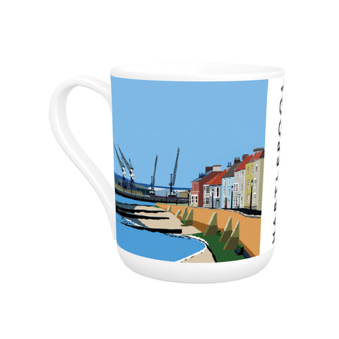 Hartlepool, Co Durham Bone China Mug