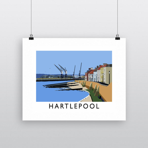 Hartlepool, Co Durham 11x14 Print