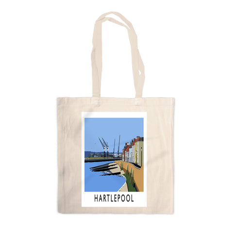 Hartlepool, Co Durham Canvas Tote Bag