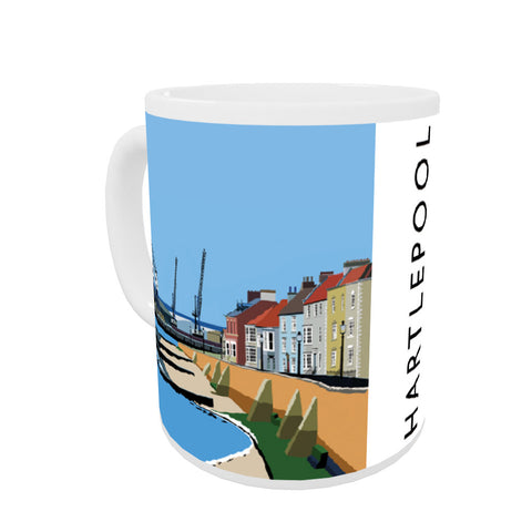 Hartlepool, Co Durham Coloured Insert Mug