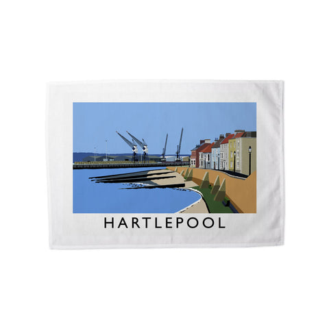 Hartlepool, Co Durham Tea Towel