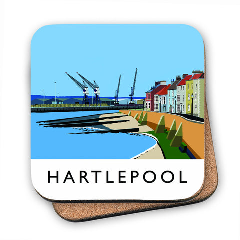 Hartlepool, Co Durham MDF Coaster