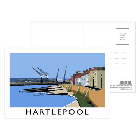 Hartlepool, Co Durham Postcard Pack