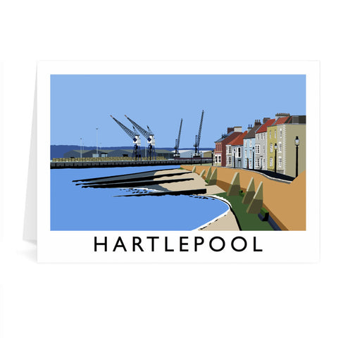 Hartlepool, Co Durham Greeting Card 7x5