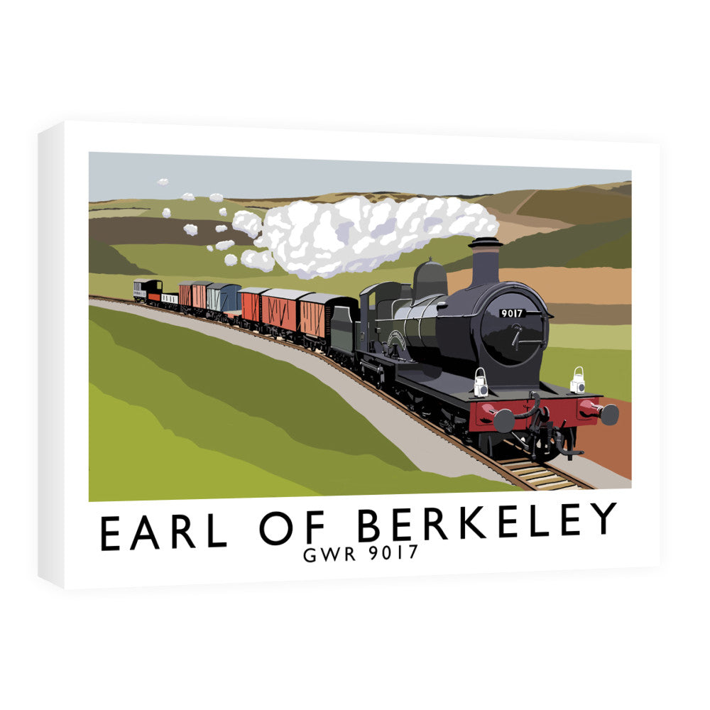 The Earl Of Berkeley Canvas