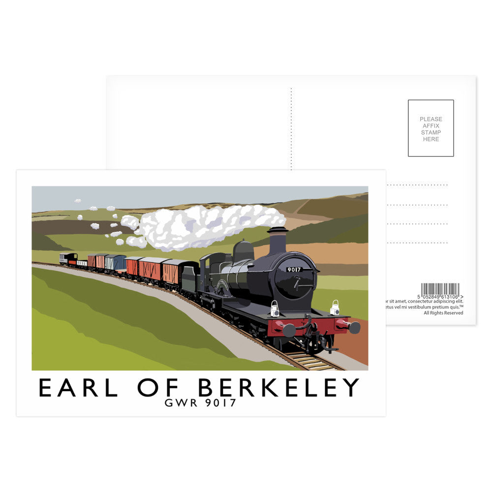 The Earl Of Berkeley Postcard Pack