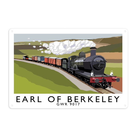 The Earl Of Berkeley Metal Sign