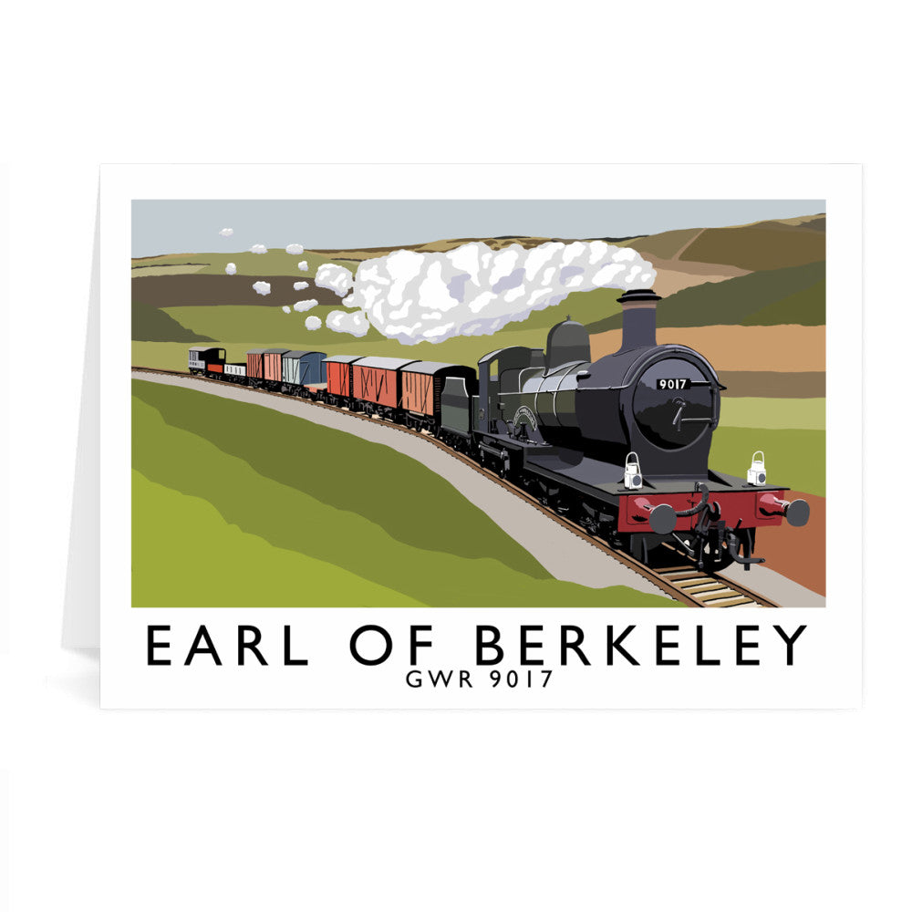 The Earl Of Berkeley Greeting Card 7x5