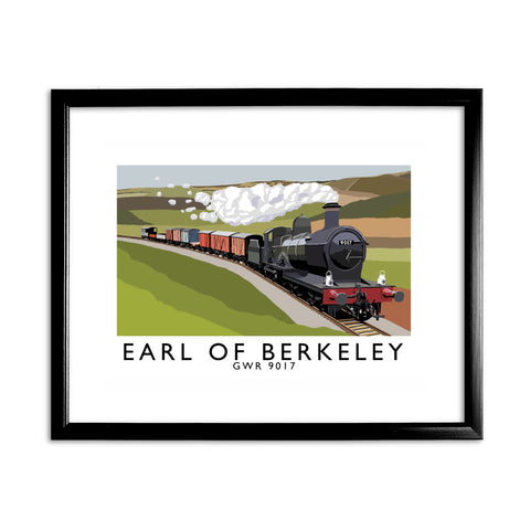 The Earl Of Berkeley 11x14 Framed Print (Black)