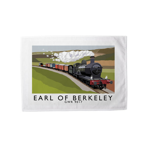 The Earl Of Berkeley Tea Towel