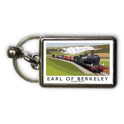 The Earl Of Berkeley Metal Keyring