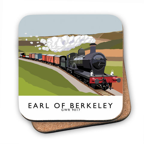 The Earl Of Berkeley MDF Coaster