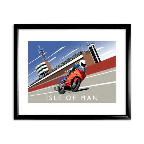 Isle of Man 11x14 Framed Print (Black)