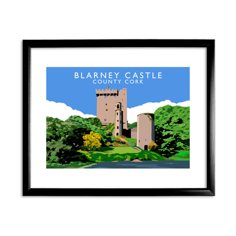 Blarney Castle, County Cork, Ireland 11x14 Framed Print (Black)