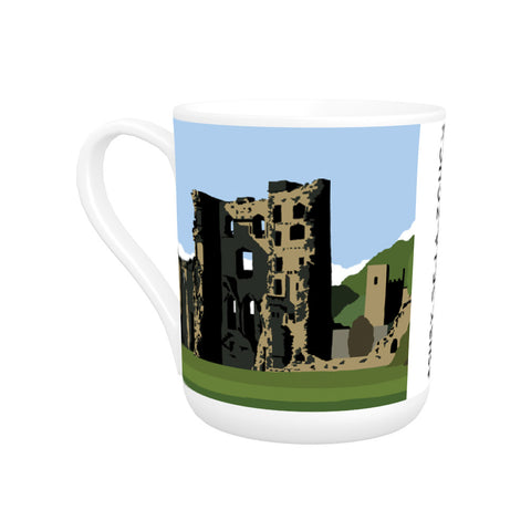 Ashby-De-La-Zouch, Leicestershire Bone China Mug