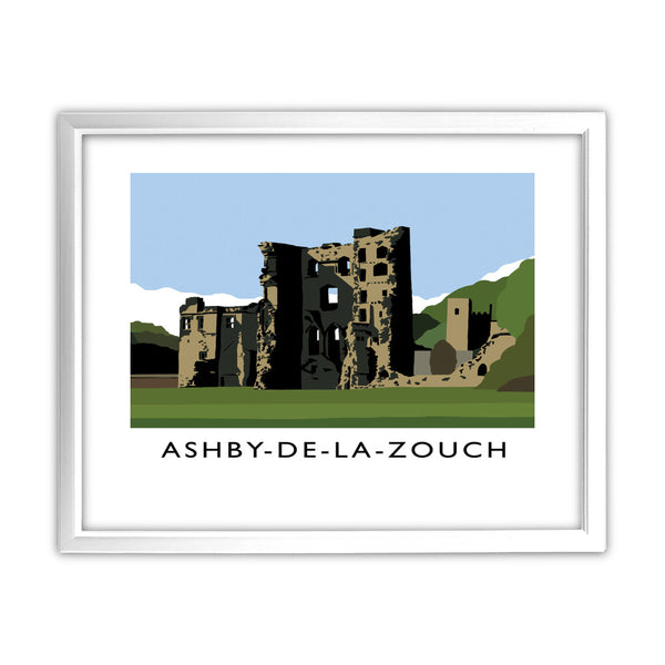 Ashby-De-La-Zouch, Leicestershire 11x14 Framed Print (White)
