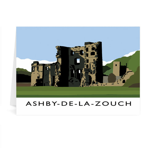 Ashby-De-La-Zouch, Leicestershire Greeting Card 7x5