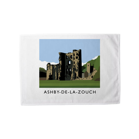 Ashby-De-La-Zouch, Leicestershire Tea Towel